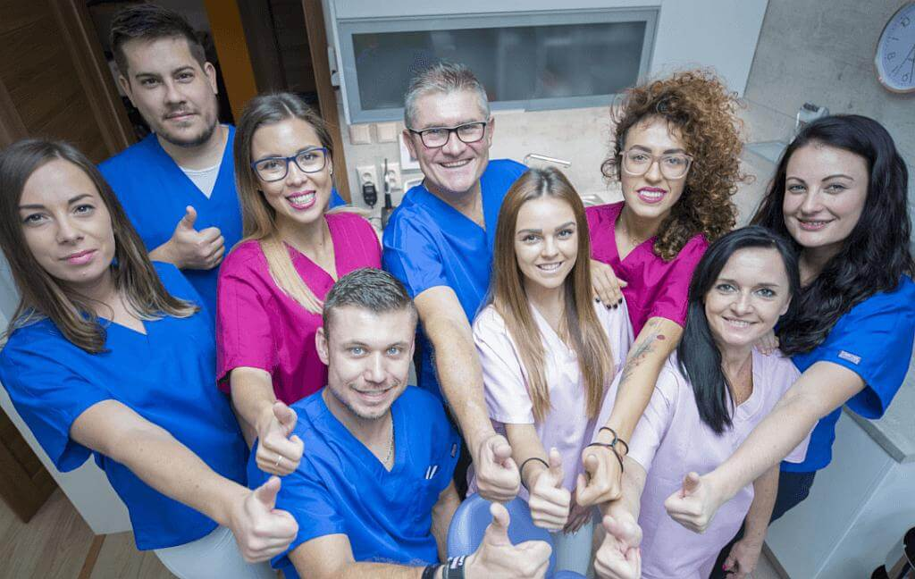 kolektív zubnej ambulancie Košice
